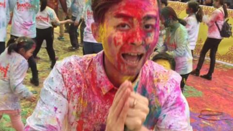 胡里节在中国Holi Celebration in China